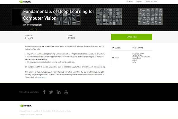 Fundamentals of Deep Learning for Computer Vision