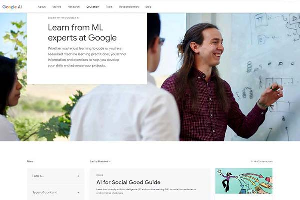 Membuat Artificial intelligence Learn With Google AI