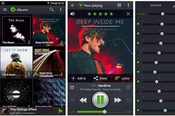 Aplikasi Android untuk Musik