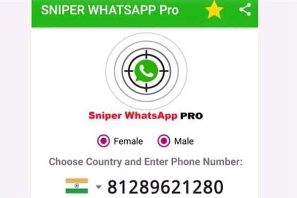 Sniper WhatsApp Pro