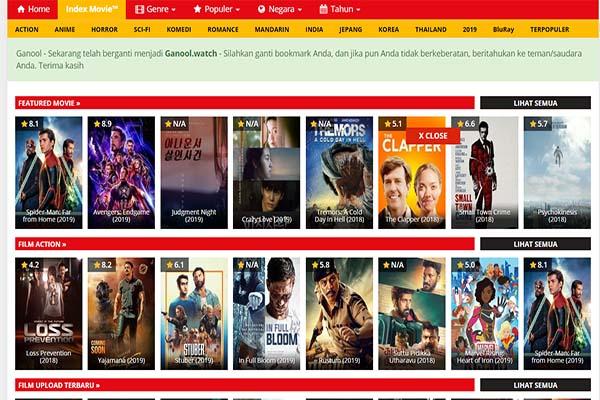 Tempat Download Film Terbaik Subtitle Indonesia Ganool