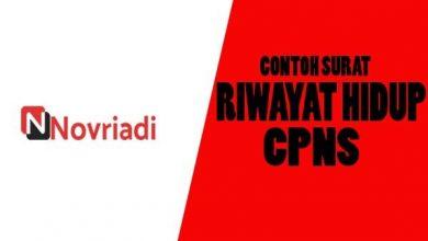 Photo of Daftar Riwayat hidup untuk CPNS
