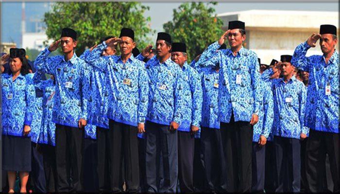 Posisi Pangkat PNS indonesia