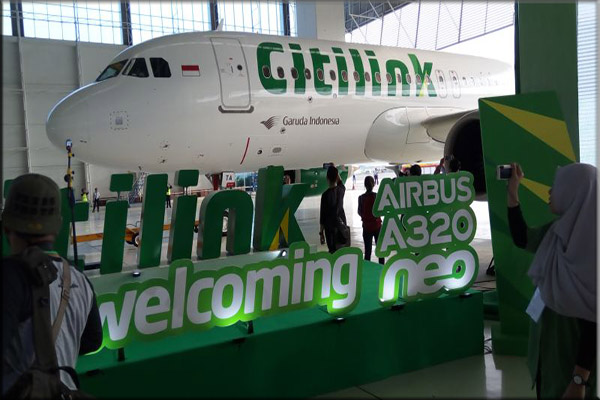 Airbus A320NEO Citilink Indonesia