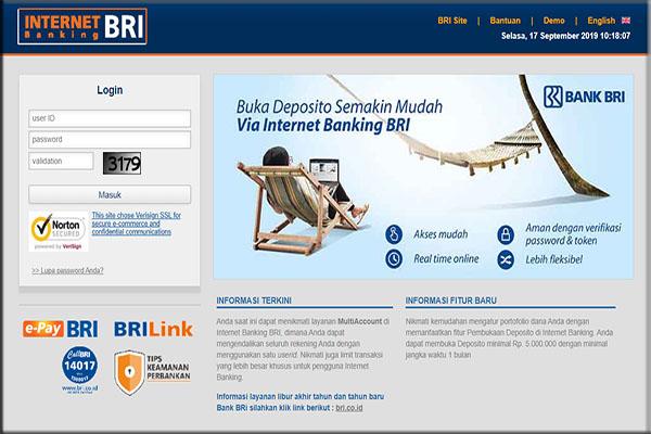 Cara Mendaftar Internet Banking BRI