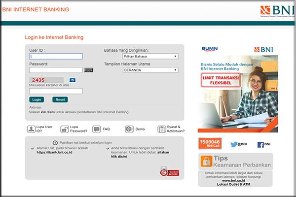 Mendaftar dengan menggunakan Layanan Pelanggan BNI