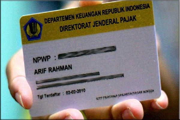 Ketentuan membuat NPWP pribadi
