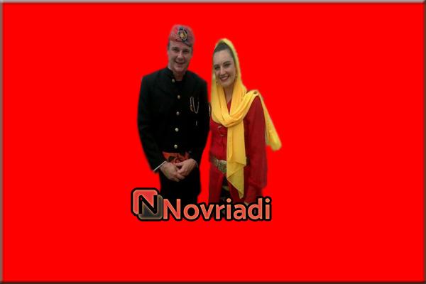 Pakaian adat Betawi dari provinsi DKI Jakarta