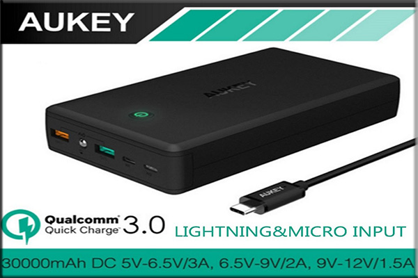 Power Bank Merk Aukey