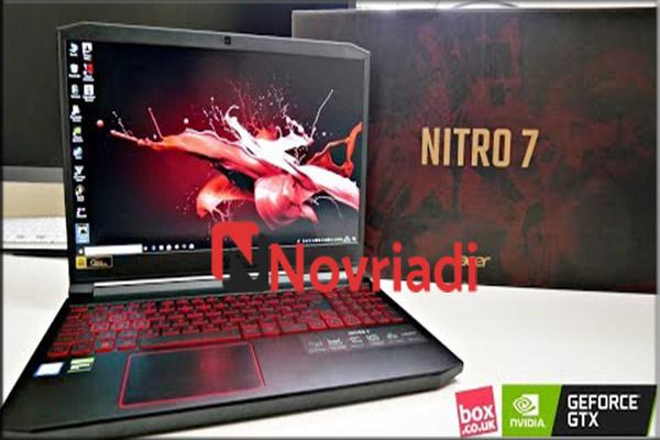 Acer Nitro 7 Spesifikasi Laptop Gaming Tertipis