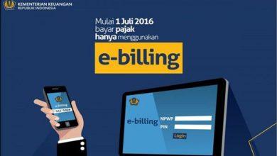 Photo of E-Billing Cara Bayar Pajak Online Praktis