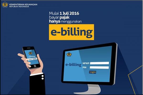 Membayar pajak secara online