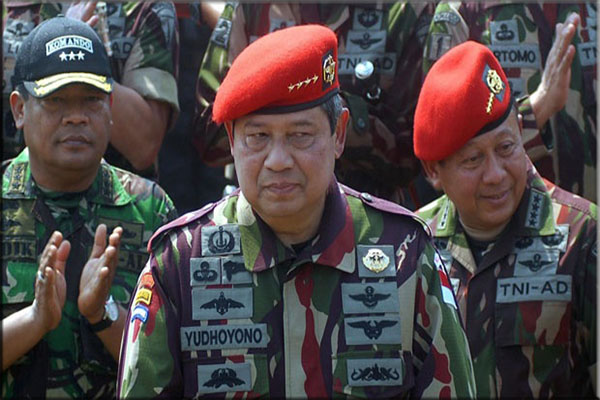 Pengalaman Militer SBY
