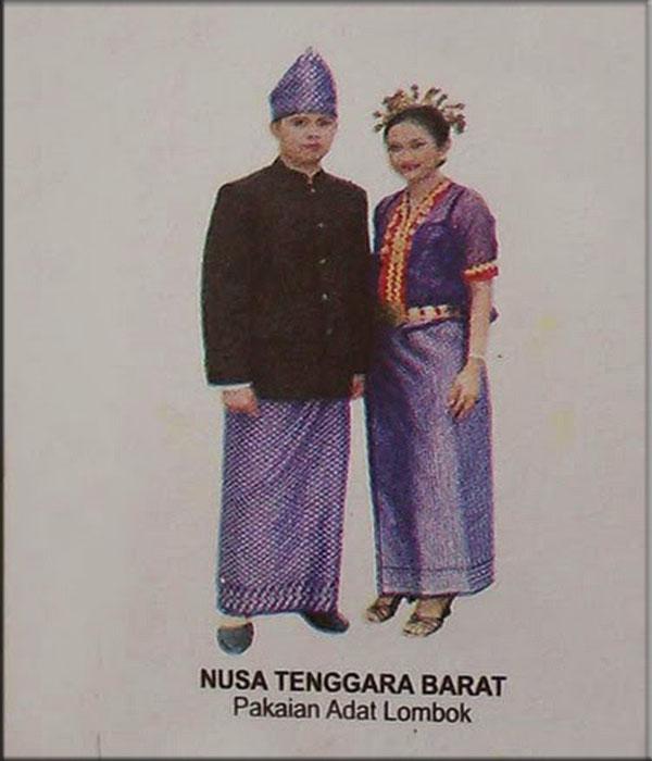 Pakaian adat tradisional dari Lombok, Provinsi Nusa Tenggara Barat