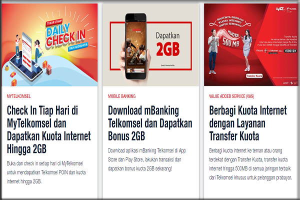 Cek Kuota Internet Kartu Simpati Telkomsel