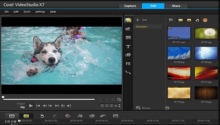 Corel Video Studio X7