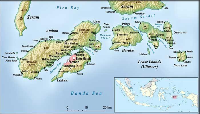 Geografis Kota Ambon