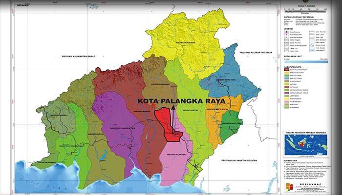 Geografi Kota Palangkaraya