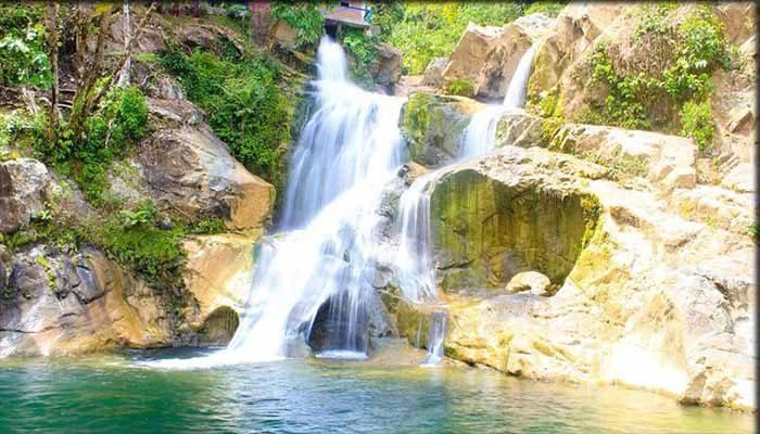 Air Terjun dan Sumber Mata Air Panas Terujak