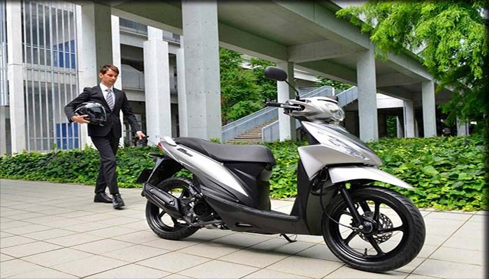 Motor Matic Suzuki Address Playful