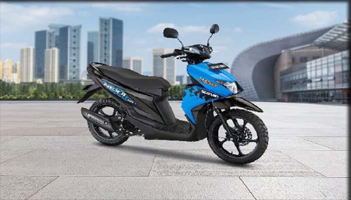 Motor Matic Suzuki NEX II