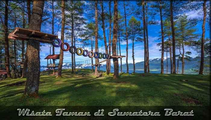 √ 10 Destinasi Wisata Taman di Sumatera Barat yang Indah