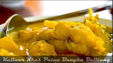 Photo of √ 10 Kuliner Khas Pulau Bangka Belitung yang Wajib Dicoba