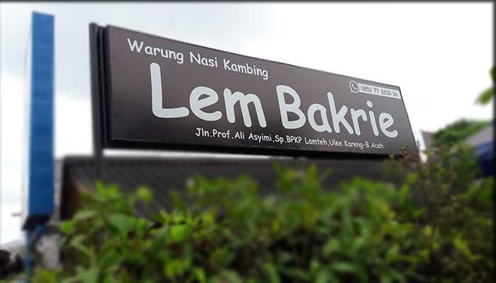 Warung Nasi Kambing Lem Bakrie