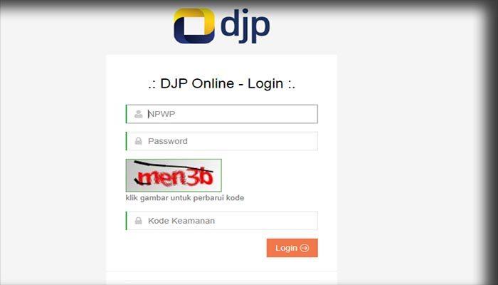 Aplikasi DJP Online Pajak