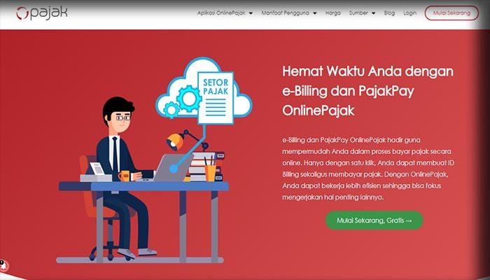 Aplikasi PajakPay Online Pajak