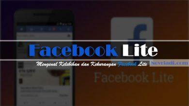 Photo of Mengenal Facebook Lite | Kelebihan dan Kekurangan