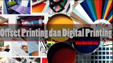 Photo of Mengenali Perbedaan Mesin Cetak Offset dan Digital Printing