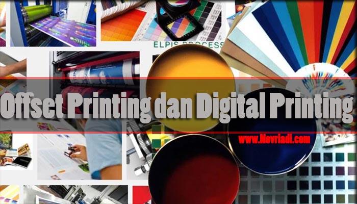 Mengenali Perbedaan Mesin Cetak Offset dan Digital Printing
