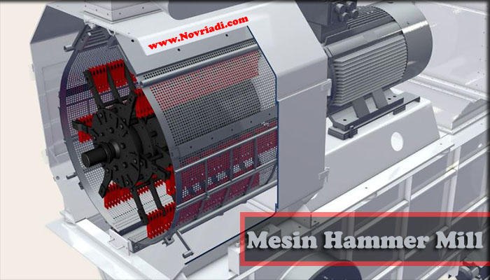 Cara Kerja Mesin Hammer Mill | Mesin Penggiling Serbaguna