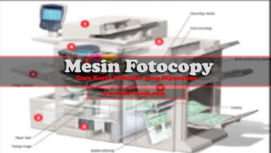 Photo of Cara Kerja Mesin Fotocopy | Metode Duplikasi yang Digunakan