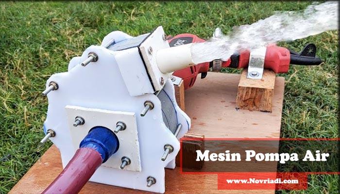 Mengenal Klasifikasi dan Jenis-Jenis Mesin Pompa Air