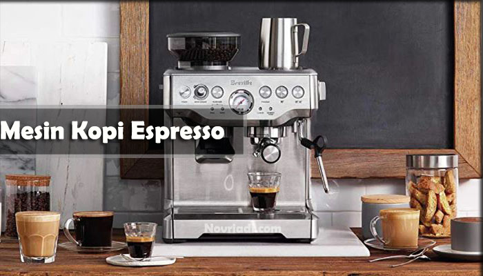 Mengenal Bagian Penting Mesin Kopi Espresso dan Tipe Mesin