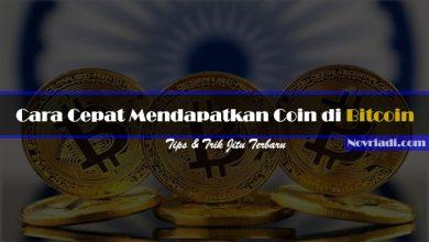 Photo of √ 7 Cara Cepat dan Tepat Mendapatkan Coin di Bitcoin Terbaru