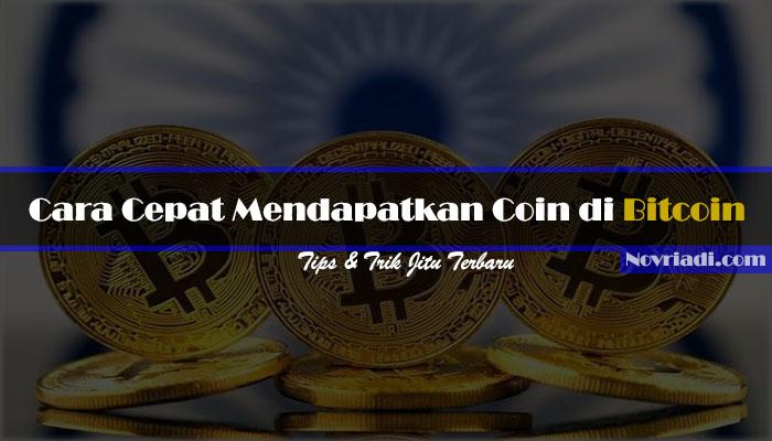 √ 7 Cara Cepat dan Tepat Mendapatkan Coin di Bitcoin Terbaru