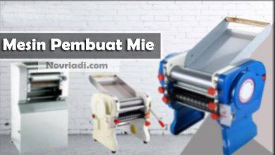 Photo of Cara Penggunaan Mesin Pembuat Mie | Mesin Pencetak Mie