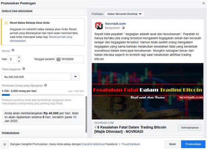 Jurus Jitu Banjir Order dengan Facebook Ads