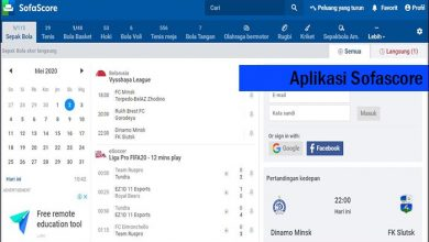 Photo of Aplikasi Sofascore Informasi Football Terkini dan Terpercaya