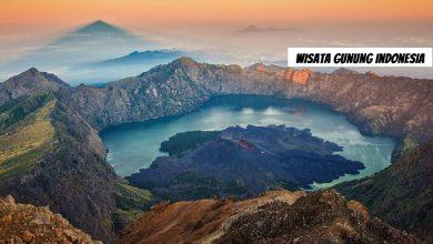 Photo of Lukisan Alam Wisata Gunung Indonesia Super Cantik