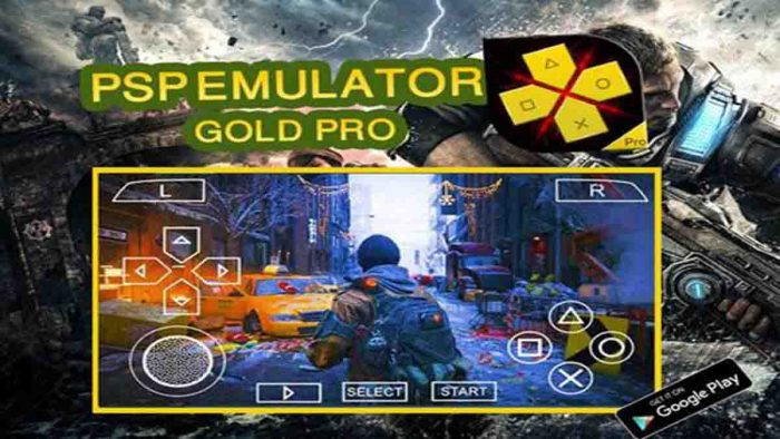 Emulator PS di android
