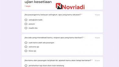 Photo of Link Ujian Seberapa Halu Kamu Docs Google Form