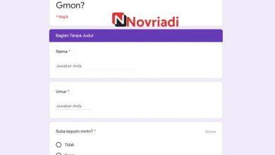 Photo of Link Ujian Seberapa Yadong Quiz Docs Google form