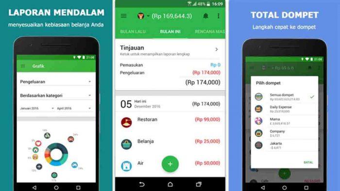 Aplikasi pengendali keuangan