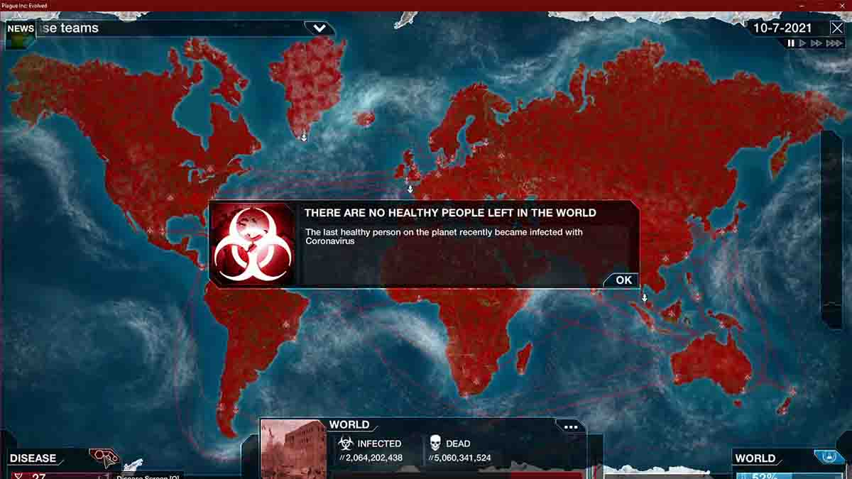 Plague Inc Berstrategi