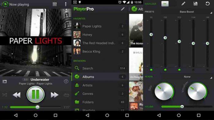 Aplikasi Musik Player Pro
