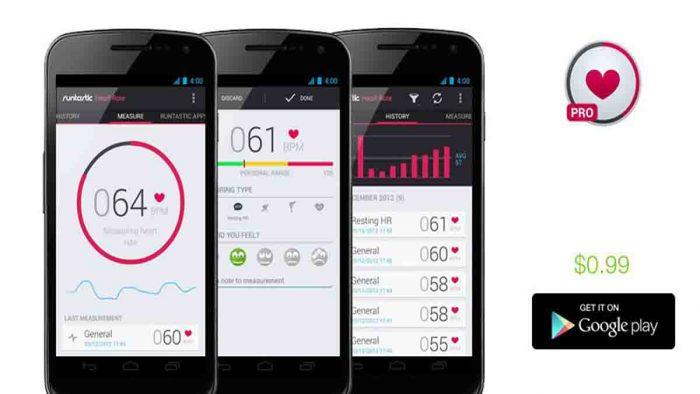 Aplikasi pengecek detak jantung